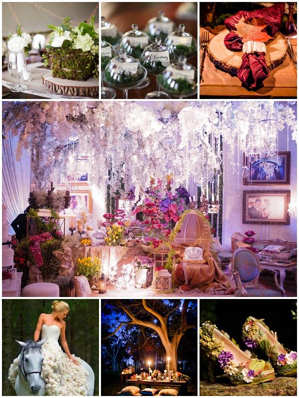 Un th me f erique pour un mariage magnifique - Decoration de mariage feerique ...