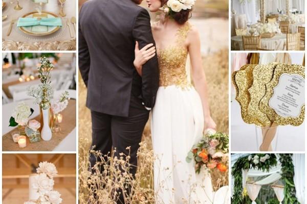 montage mariage dore