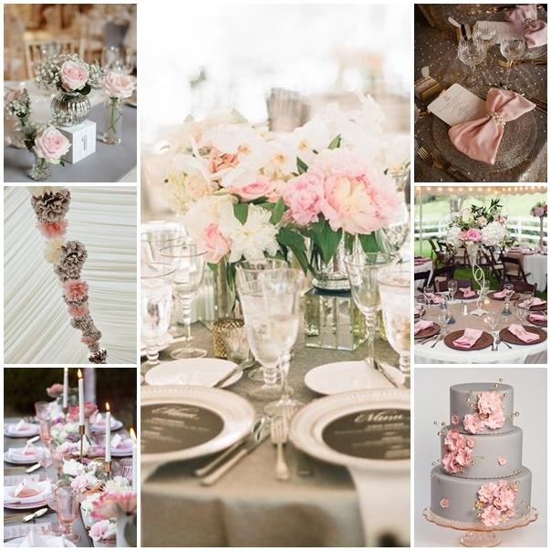 montage mariage rose cafe