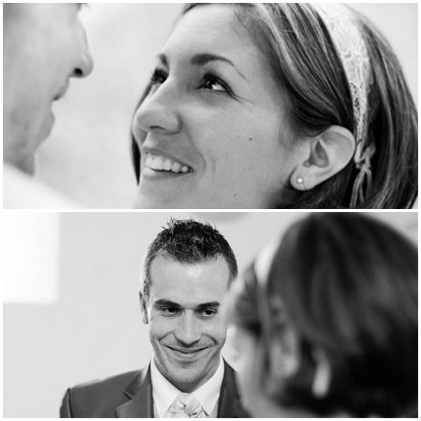 montage sourire mariage retro