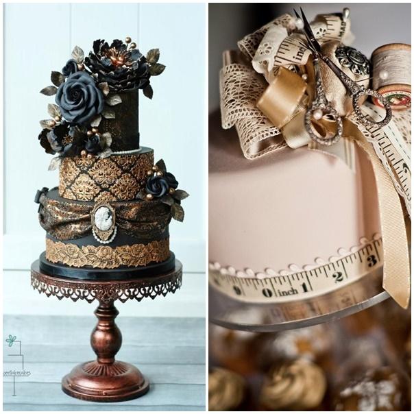 montage steampunk cake
