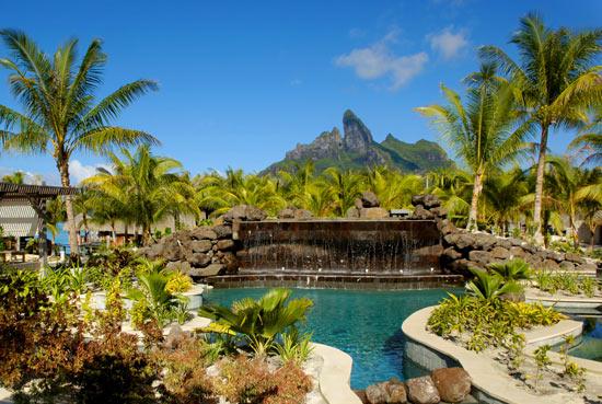 oasis piscine saint regis bora bora