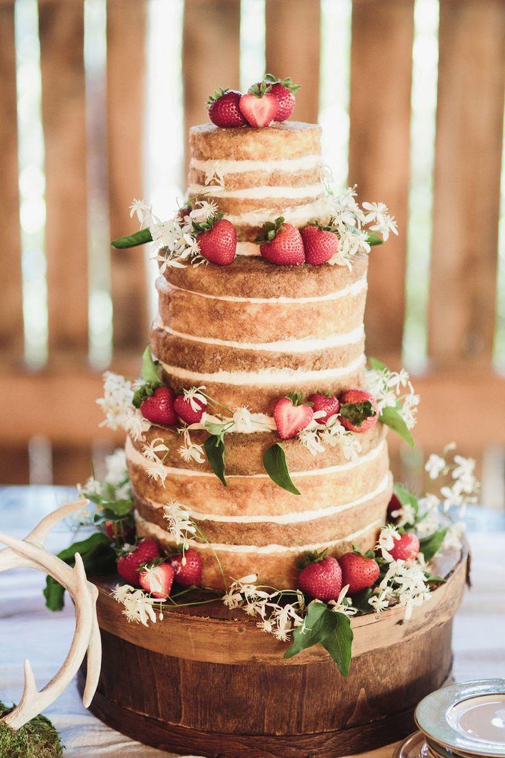 Mariage rustique il vous faut un cake Mariage