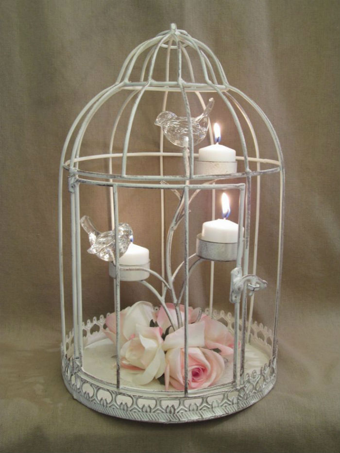Bougeoirs cages a oiseaux 2