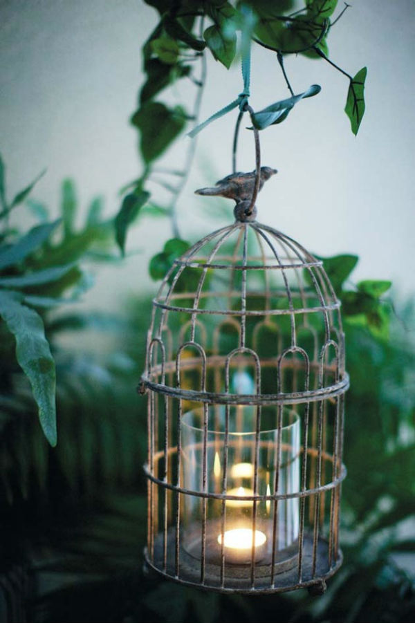 Bougeoirs cages a oiseaux 5
