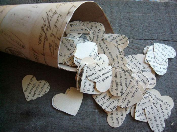 Cornet de fleurs papier 9