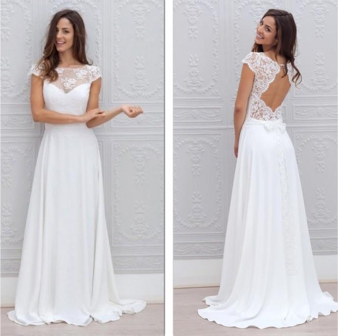 10 robes sexy qui ont l'art de dévoiler le dos de la mariée avec ...
