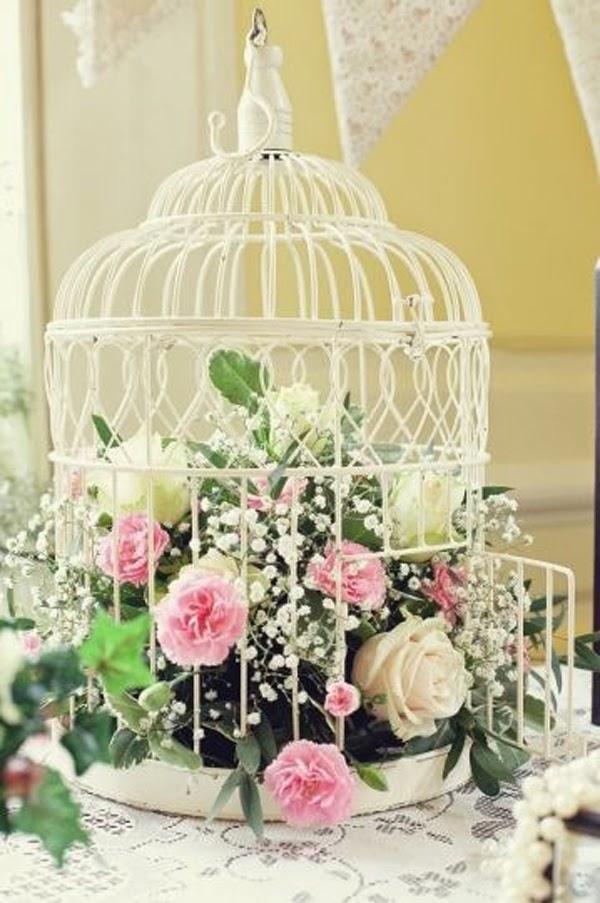 Des cages oiseaux mon mariage comment les utiliser - Repeindre un abat jour ...