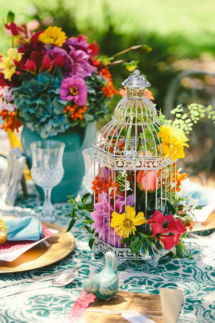 Fleurs cages a oiseaux 7
