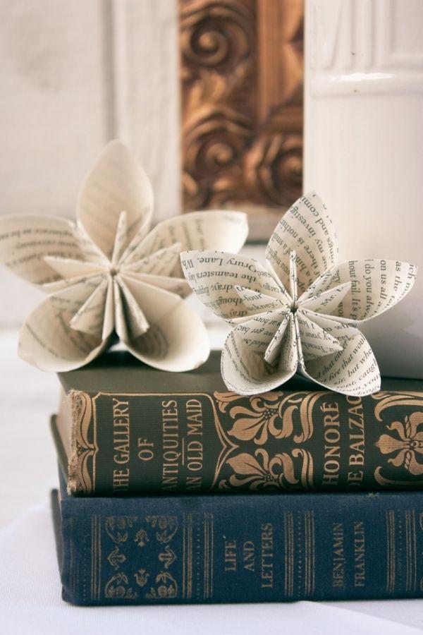 Fleurs deco papier 10