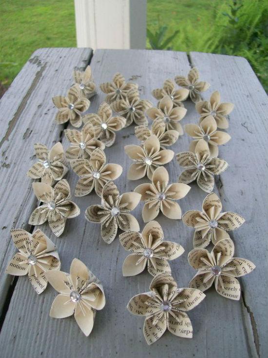 Fleurs deco papier 4