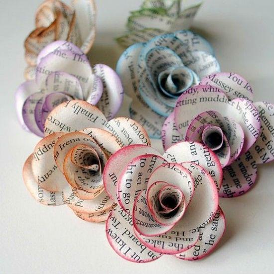 Fleurs deco papier 5