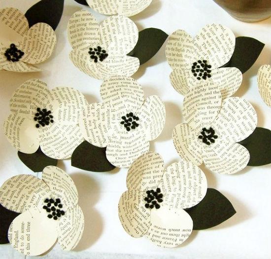 Fleurs deco papier 9