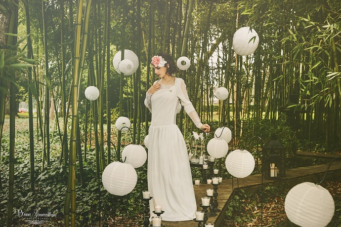 Robe de mariée mariage zen