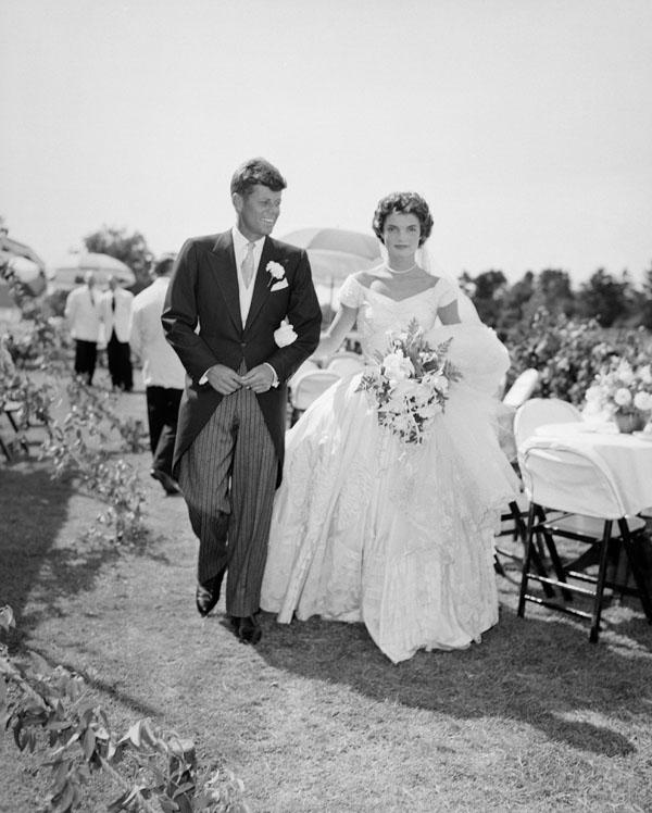 Mariage de JFK et Jackie Kennedy