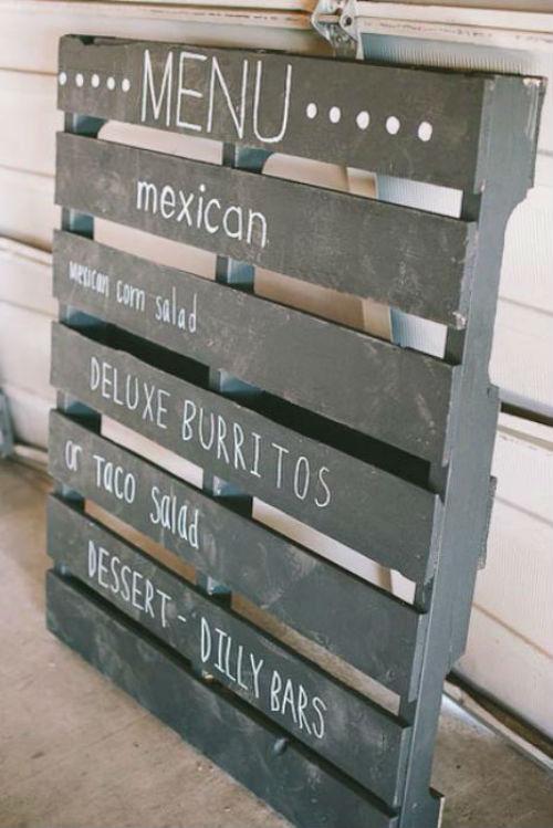 6 id es d coration pour r utiliser avec audace des for Decoration palette en bois