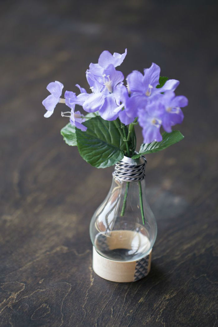 Mini vases ampoules 9