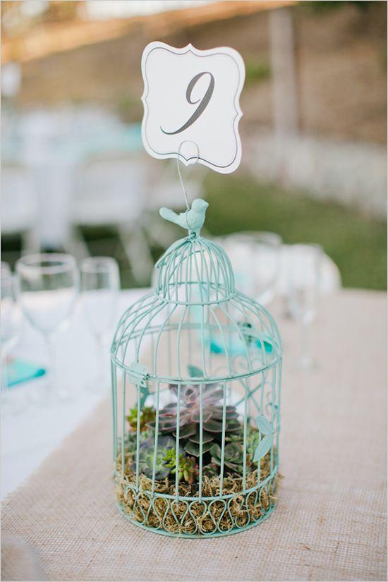 Numeros de tables cages a oiseaux 1