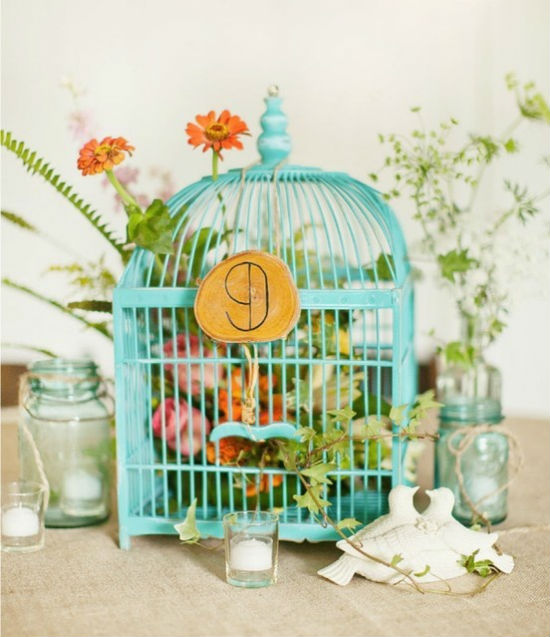 Numeros de tables cages a oiseaux 9