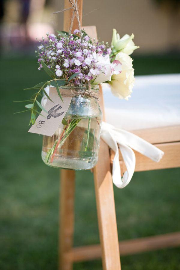 Petits pots en verre fleurs 7