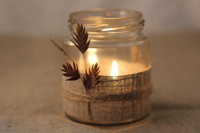 Pots en verre et bougies 6