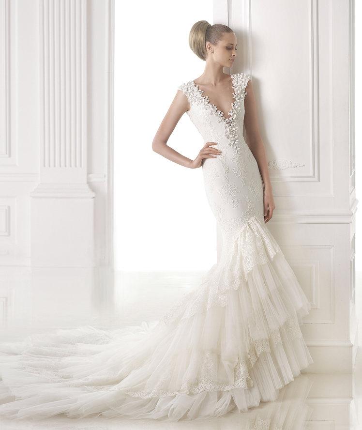 10 robes de mariéee au décolleté très flatteur