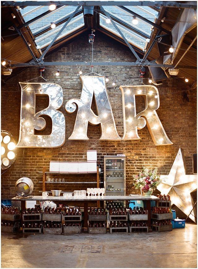 bar mariage industriel