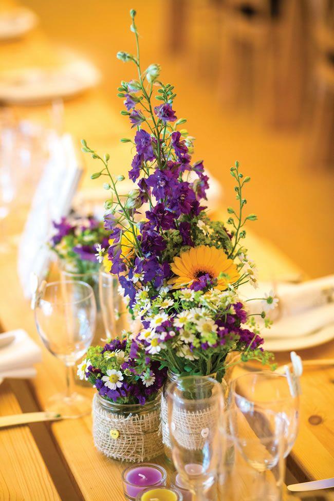 chemin de table reception de mariage theme festival
