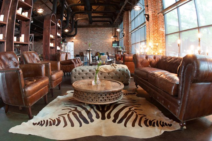 coin lounge mariage esprit industriel