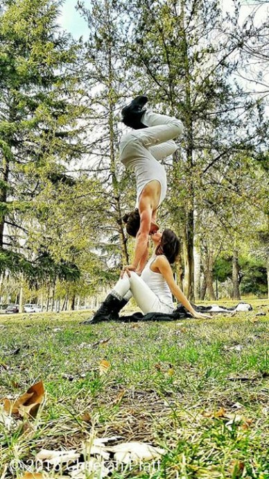 couple acrobates  (1)
