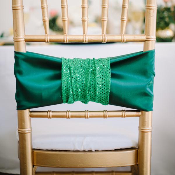 decoration chaise emeraude