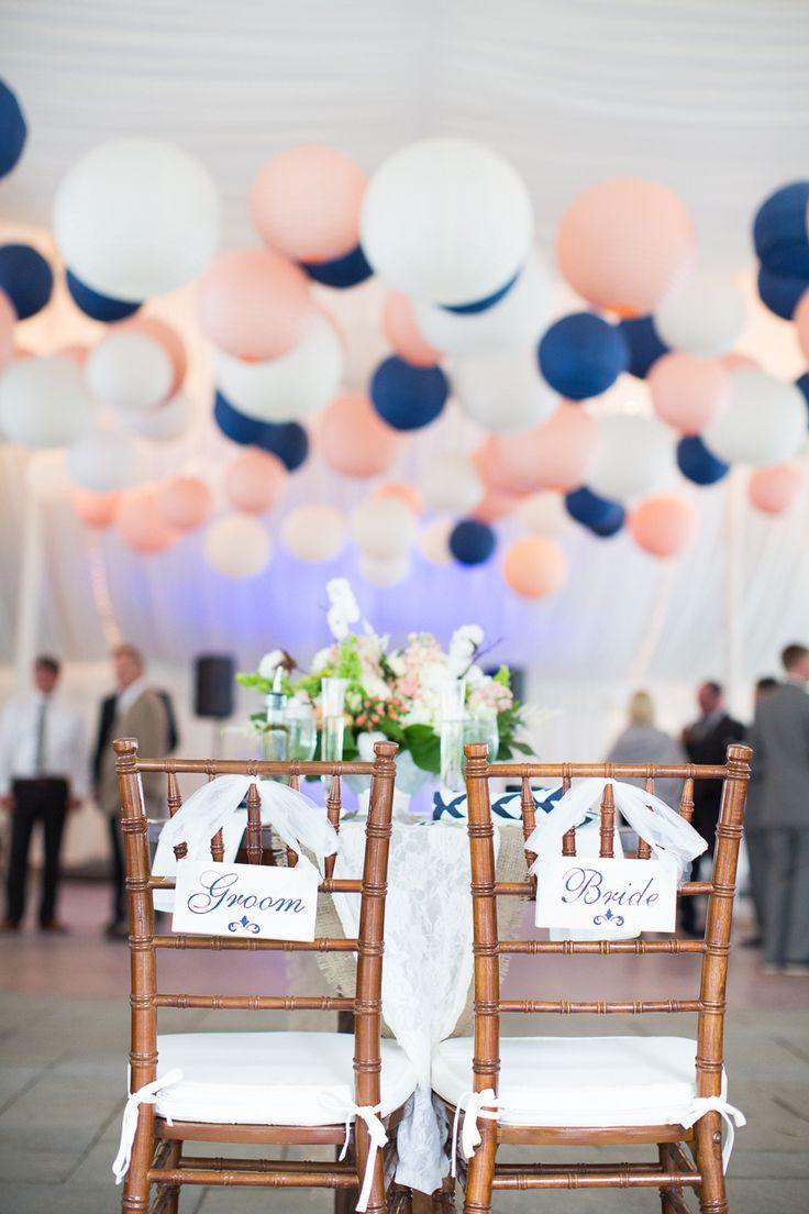 Bleu marine et rose des couleurs punchy pour mon mariage for Decoration romantique