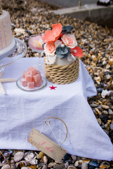 decoration de table mariage nautique