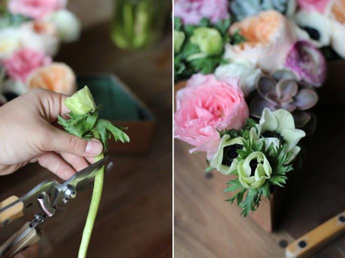 decoration florale pour mariage diy10