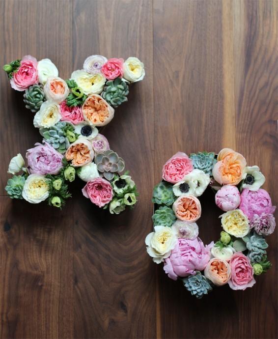 decoration florale pour mariage diy12