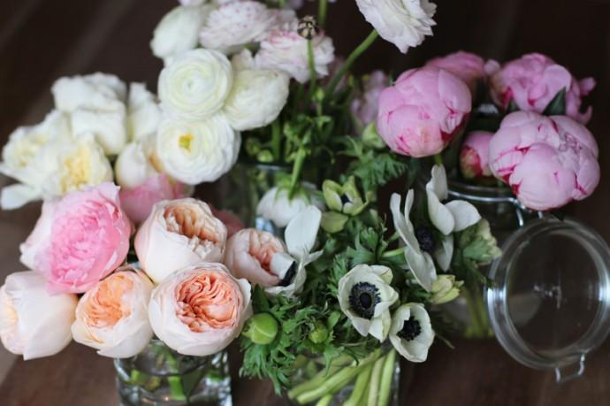 decoration florale pour mariage diy3