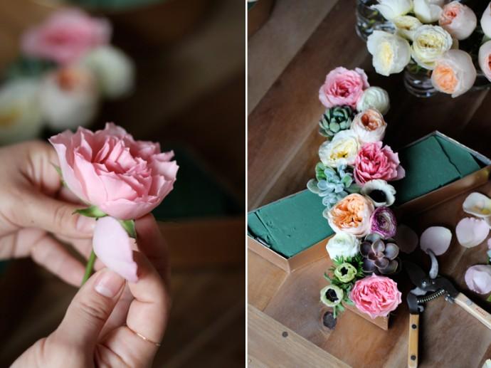 decoration florale pour mariage diy9