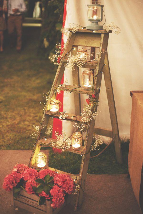 decoration rustique mariage theme festival