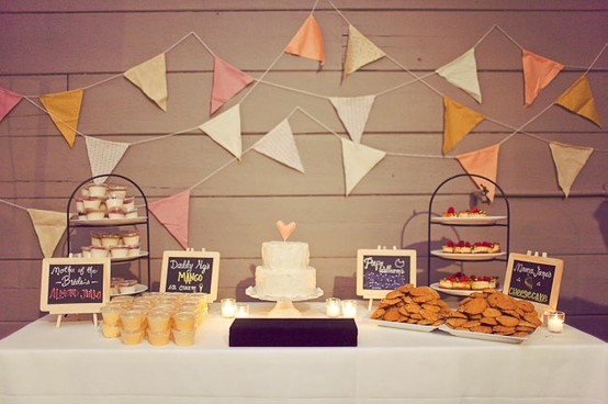 fanions decoration mariage  (1)