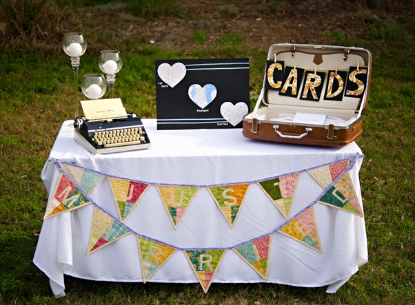 fanions decoration mariage  (2)