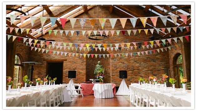 フラッグガーランド 結婚式