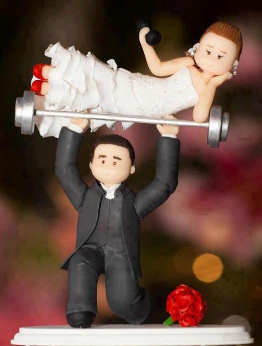gateaux de mariage droles  (1)
