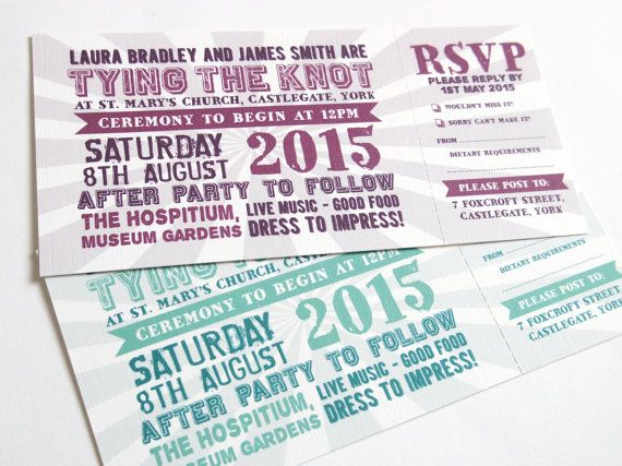 invitations mariage theme festival