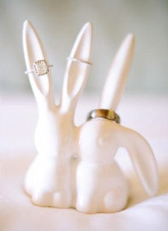 lapins amoureux theme paques