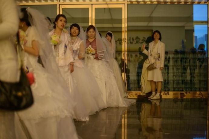 mariage collectif coree du sud