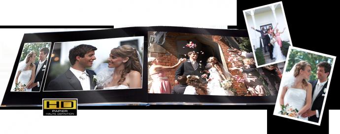 mini livre de photos de mariage