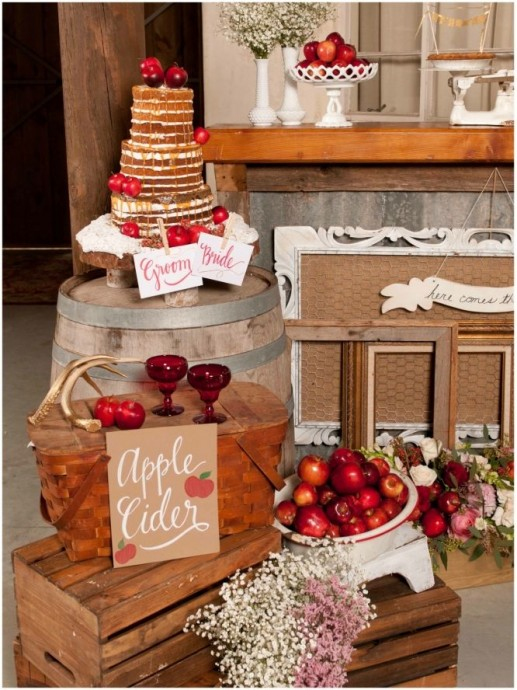 nake cake au pommes