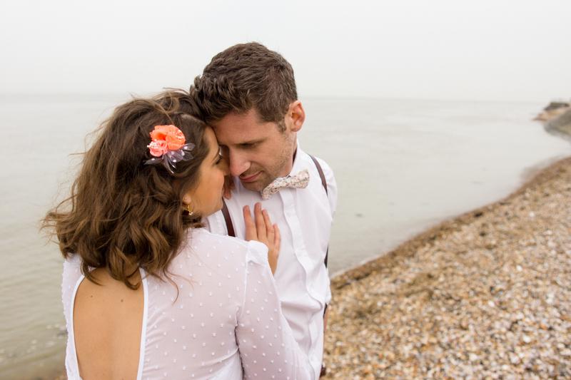 photo de maries mariage nautique