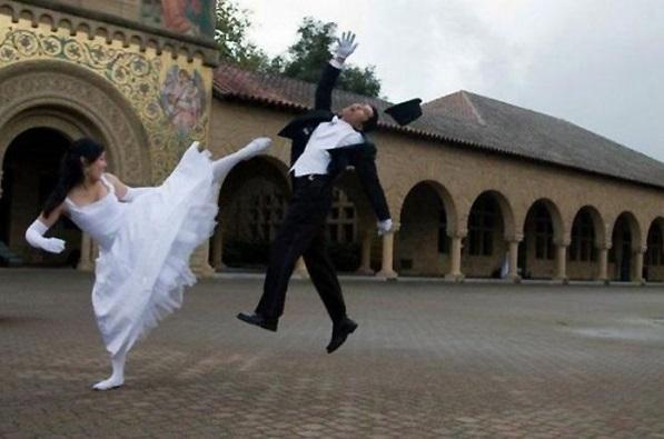 photo mariage drole