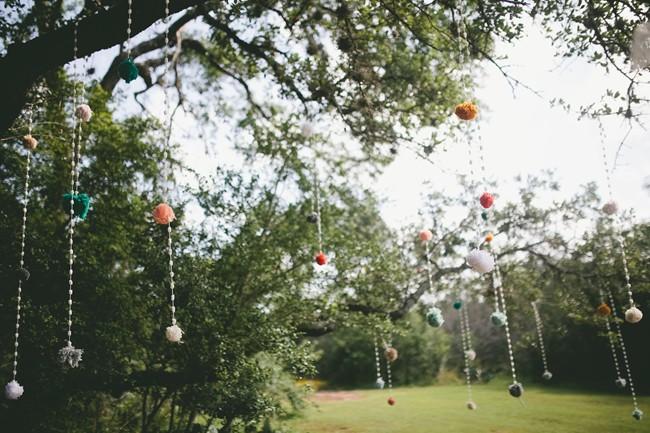 pompons deco mariage (10)